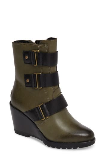 Sorel After Hours Waterproof Bootie, Green