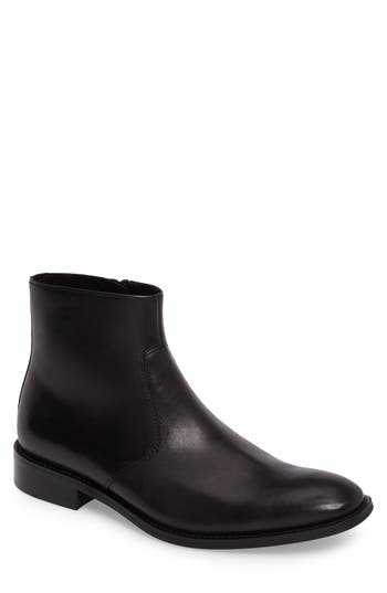 Kenneth Cole New York Zip Boot- Black