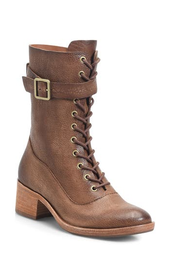 Kork-Ease Mona Lace-Up Boot, Brown