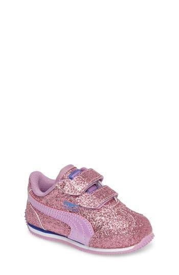 Toddler Girls Puma Whirlwind Glitz Sneaker Size 8 M  Purple