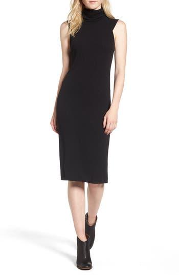 Splendid Sylvie Rib Knit Dress, Black