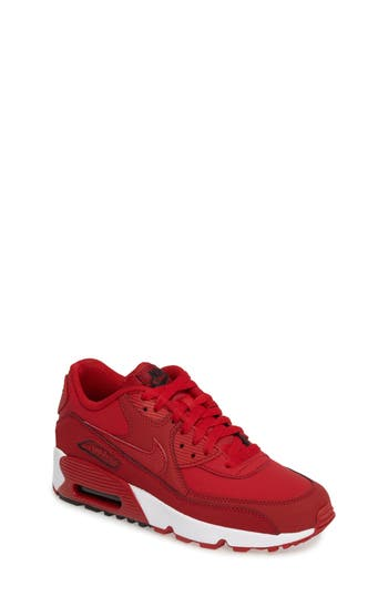 Boys Nike Air Max 90 Sneaker Size 55 M  Red