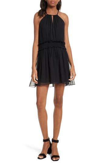 Joie Althia Silk Dress, Black