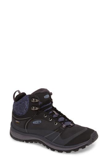 Keen Terradora Pulse Waterproof Hiking Shoe- Black