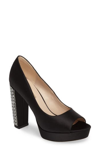 Pelle Moda Paris Peep Toe Pump