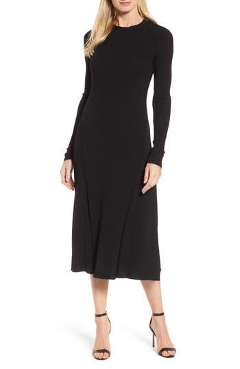 Boss Faustine Midi Dress, Black