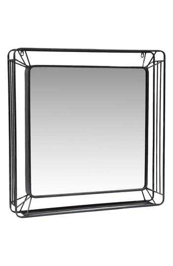 Foreside Forged Iron Mirror, Size One Size - Metallic