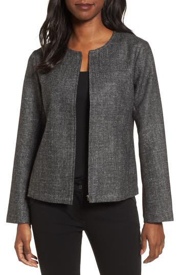 Women's Eileen Fisher Tweed Jacket