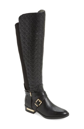 Vince Camuto Patira Over The Knee Boot, Wide Calf- Black