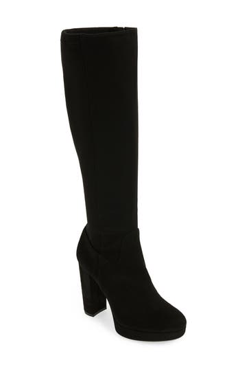 Calvin Klein Mailia Tall Boot, Black