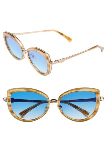 Wildfox Clubhouse 5m Mirrored Sunglasses - Antique Gold