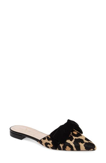 Kate Spade New York Belgrove Genuine Calf Hair Mule, Beige