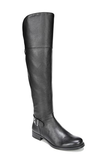 Naturalizer January Over The Knee High Boot, Wide Calf- Black