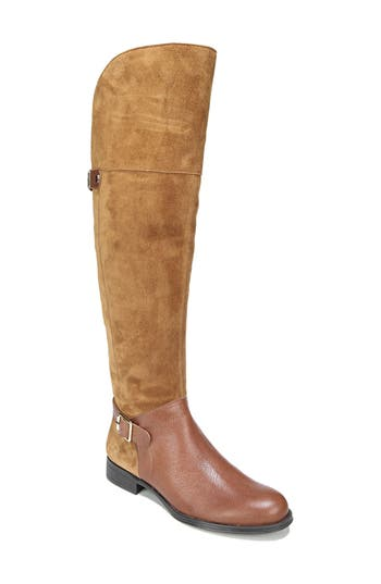 Naturalizer January Over The Knee High Boot, Regular Calf- Brown