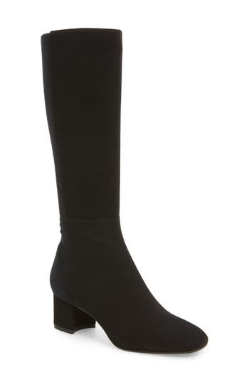 Aquatalia Jules Tall Weatherproof Boot, Black