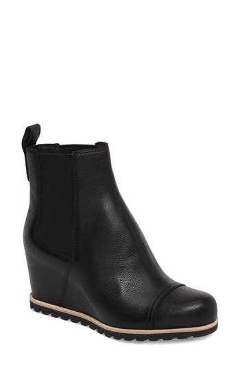 Ugg Pax Waterproof Wedge Boot, Black