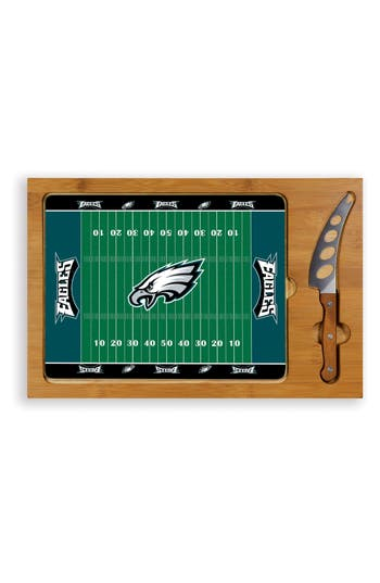 Picnic Time Icon - Nfl Team 3-Piece Cheese Board Set, Size One Size - Brown
