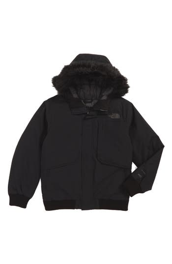 Boy's The North Face Gotham Hooded Down Jacket