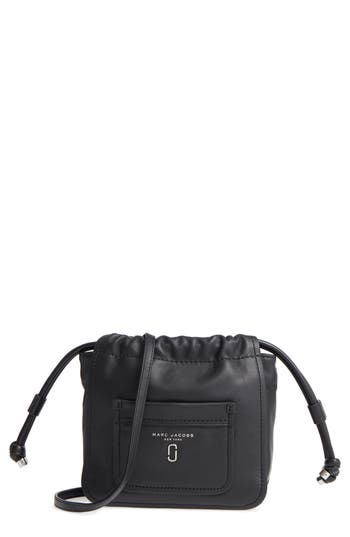 Marc Jacobs Tied Up Leather Crossbody Bag -