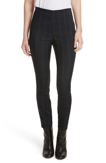 Women's Rag & Bone Simone Glen Plaid Pants, Size 00 - Blue