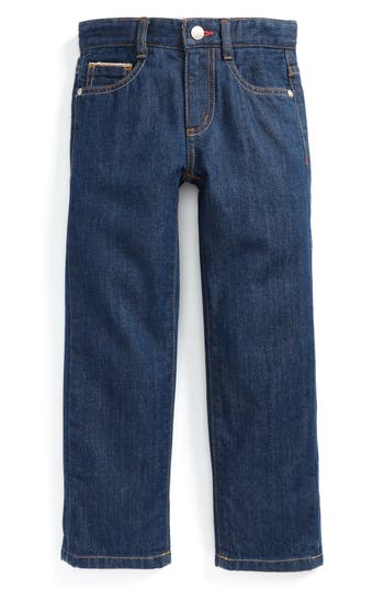 Boys Mini Boden Straight Leg Jeans