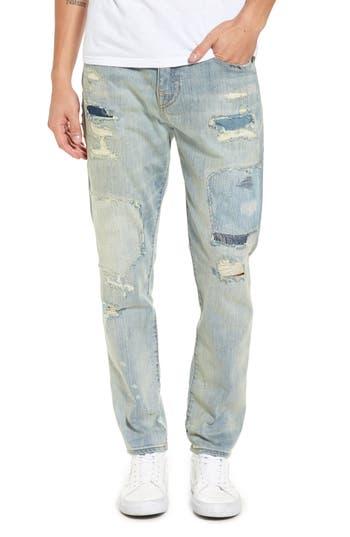 True Religion Brand Jeans Mick Skinny Fit Jeans, Blue