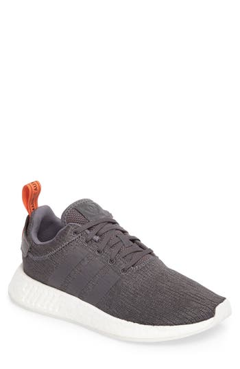 reputable site 56fe3 caf7e ADIDAS ORIGINALS NMD R2 SNEAKER, GREY GREY FUTURE HARVEST
