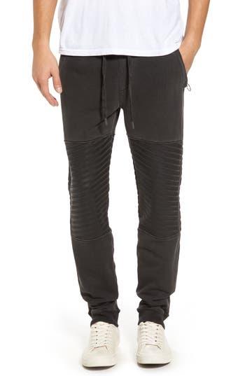 True Religion Brand Jeans Moto Sweatpants, Black