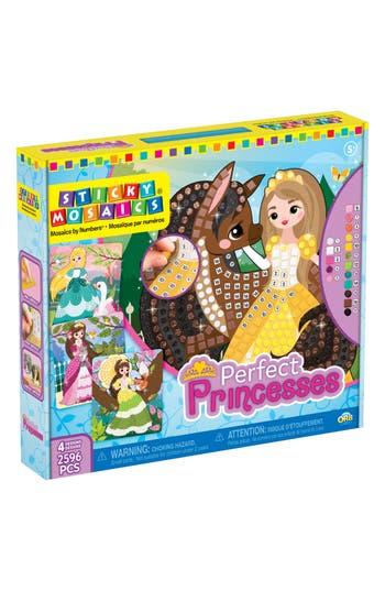 Girl's Orb(TM) Sticky Mosaics - Perfect Princesses Craft Kit