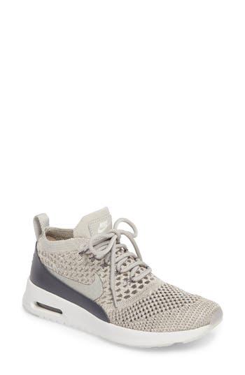 Nike Air Max Thea Ultra Flyknit Sneaker- Grey
