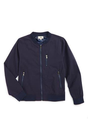 Boys Z.a.k. Brand ZipUp Bomber Jacket Size 4  Blue
