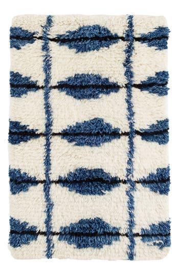 Dash & Albert Noma Wool Blend Rug, Size Swatch - Blue