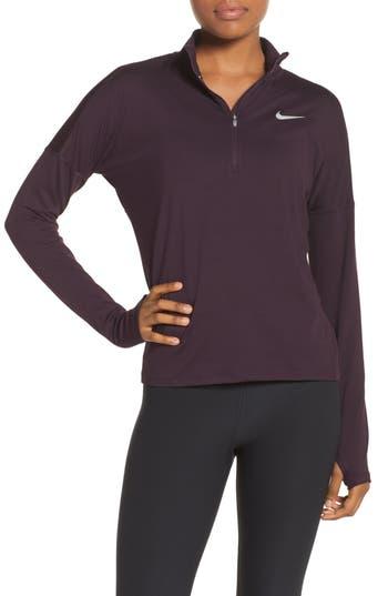 Nike Dry Element Half Zip Top, Red