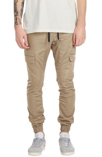 Zanerobe Sureshot Cargo Jogger Pants, Beige