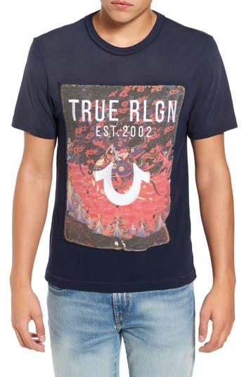 True Religion Brand Jeans 15Th Anniversary T-Shirt, Blue