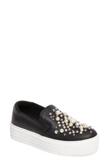 Kenneth Cole New York Ashby Pearl Slip-On Sneaker- Black