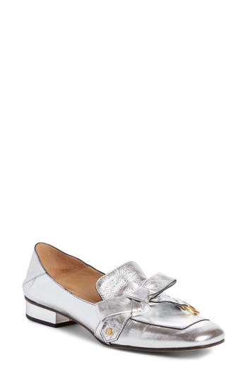 Chloe Quincey Convertible Loafer, Grey