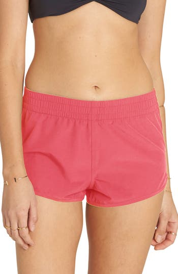 Billabong Sol Searcher Volley Swim Shorts, Pink