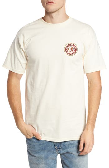 Brixton Rival Ii Graphic T-Shirt, Ivory