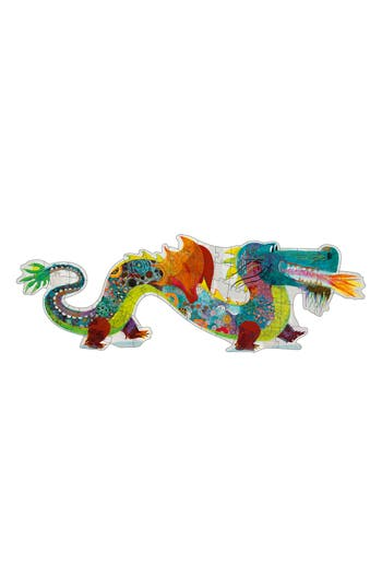 Djeco Leon The Dragon 58-Piece Giant Puzzle