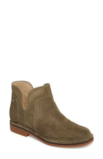 Hush Puppies Claudia Catelyn Bootie- Green
