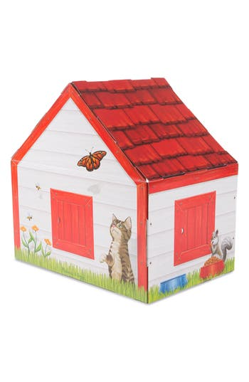 Toddler Melissa  Doug Doghouse Plush Pet Playhouse