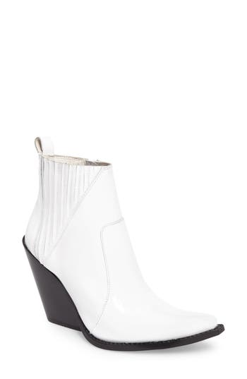 Jeffrey Campbell Homage Boot, White