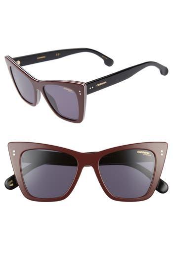 Carrera Eyewear 52Mm Cat Eye Sunglasses - Ople Burgundy