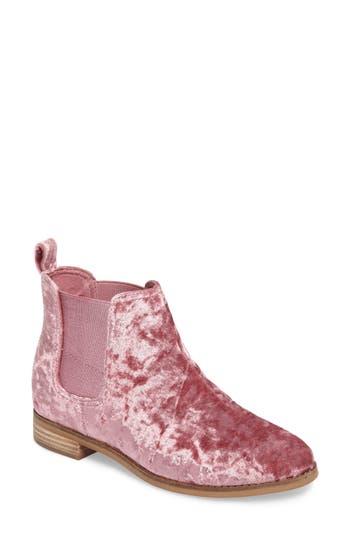 Toms Ella Bootie- Pink