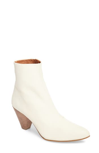 Free People Aspect Statement Heel Bootie, White