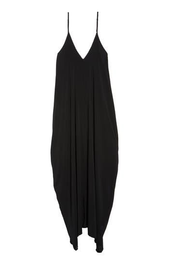 Plus Size Elan Cover-Up Maxi Dress, Black