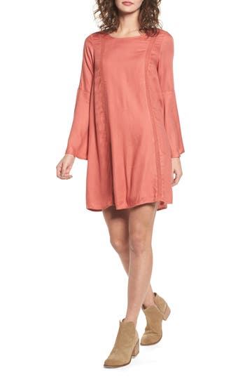 Roxy East Coast Dreamer Dress, Coral
