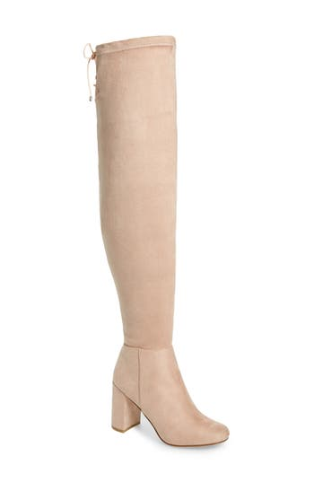 Chinese Laundry Krush Over The Knee Boot- Pink
