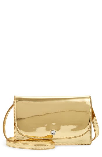 Elizabeth And James Mini Eloise Crossbody Bag - Metallic